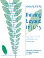 Thriving beyond injury students with TBI, Traumatic Brain Injury : a guide for parents working...