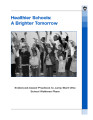 Healthier schools : a brighter tomorrow : evidenced-based practices to jump start Ohio school...