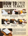 How to check & tag your turkey : Spring 2013 turkey tagging and checking.