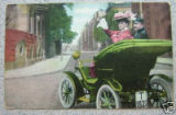 Elmore Car Color Postcard
