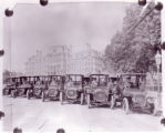 1910 Elmore Cars as Taxis