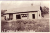 Gibsonburg Railroad Depot (Early view)