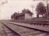 Graytown, Ohio Train Depot 1910