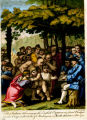 Henry Bouquet receiving English captives from the Native Americans