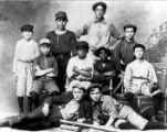 McIntire Children's Home baseball team