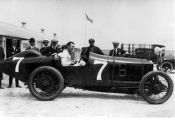Eddie Rickenbacker in Peugeot #7 photograph