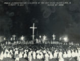 Ku Klux Klan demonstration photograph