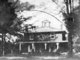 Isaac and Dinah Mendenhall home photograph