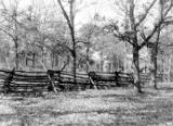 J.J. Jordan timber lot Underground Railroad station photograph