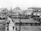 Battery H, 1st Ohio Light Artillery Parade on High Street