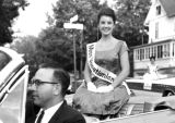 Jacquelyn Mayer in Homecoming Parade