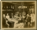 William and Ida McKinley dinner party photograph
