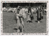 Traditional women's dance performers at annual pow-wow