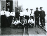 Buckeye Steel Castings Company office baseball team