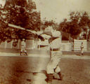 Zane Grey playing baseball