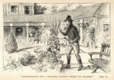 Aaron Burr at Blennerhassett Island print