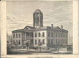 Cincinnati College building print