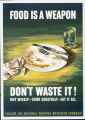 'Food Is a Weapon' poster