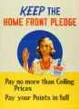 'Keep the Home Front Pledge' poster