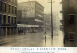 Great Flood of 1884 photograph