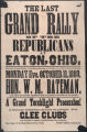 'Grand Rally in Eaton, Ohio' poster