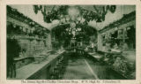 Snyder-Chaffee Chocolate Shop vintage postcard