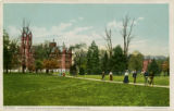 Ohio State University campus postcard