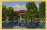Mirror Lake and Campbell Hall postcard