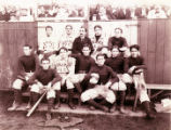 Zane Grey with Orange A.C. baseball team