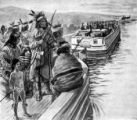 Last Wyandots leave Ohio on the Miami and Erie Canal illustration