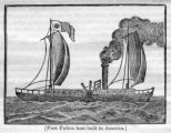 First Fulton boat built in America illustration