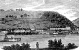 Ripley, Ohio, from the Kentucky side of the Ohio River illustration