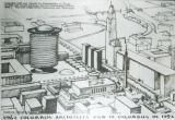 """Columbus in 1992"" illustration"