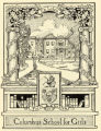 Columbus School for Girls bookplate