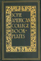 """Some American College Book-Plates"" cover"
