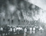 Ohio Penitentiary Fire photograph