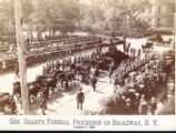 Ulysses S. Grant's funeral procession photograph