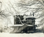 Hopley family home in winter
