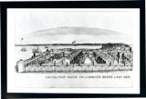Johnsons Island military prison illustration