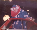 Flippo in his Clown Car