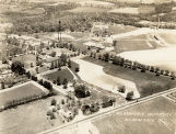 Wilberforce University aerial photograph