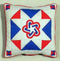 United States Bicentennial Pillow