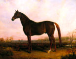 'Sir Henry' racehorse painting
