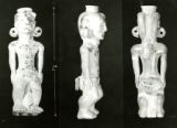 Adena human effigy pipe photograph