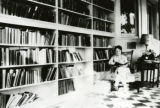 Martha Kinney Cooper with Books