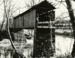 Covered Bridge in Guernsey County, Ohio