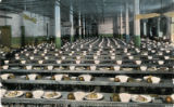 Ohio State Penitentiary dining hall photograph