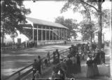Fairgrounds grandstand photograph