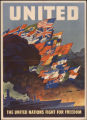 United Nations war poster