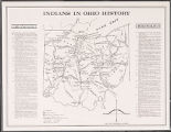 Indians in Ohio history map